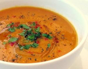 Tomato & Lentil Soup