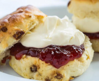Image result for cream scone